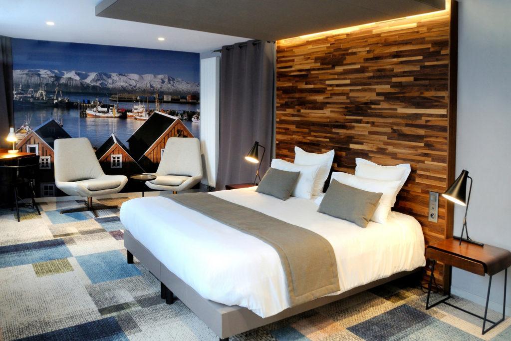 photographie d'une chambre d'hôtel par Pierre Pointeau, photographe freelance.