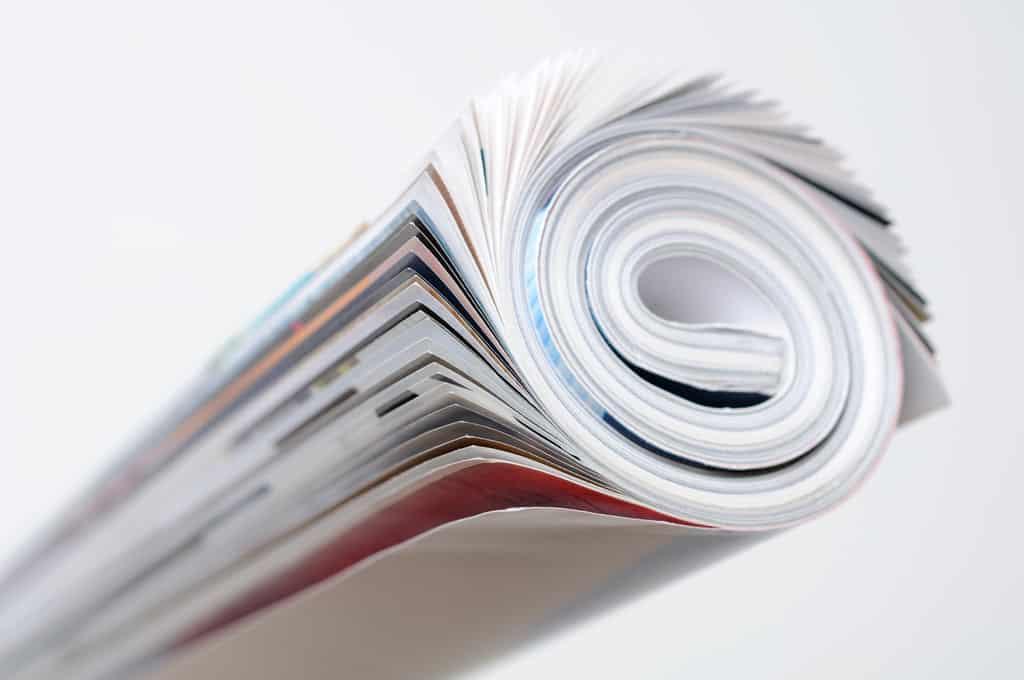 Un magazine.